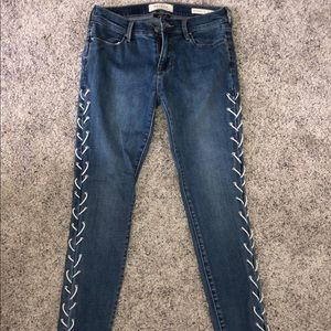 Pac Sun super stretch ankle jeggings